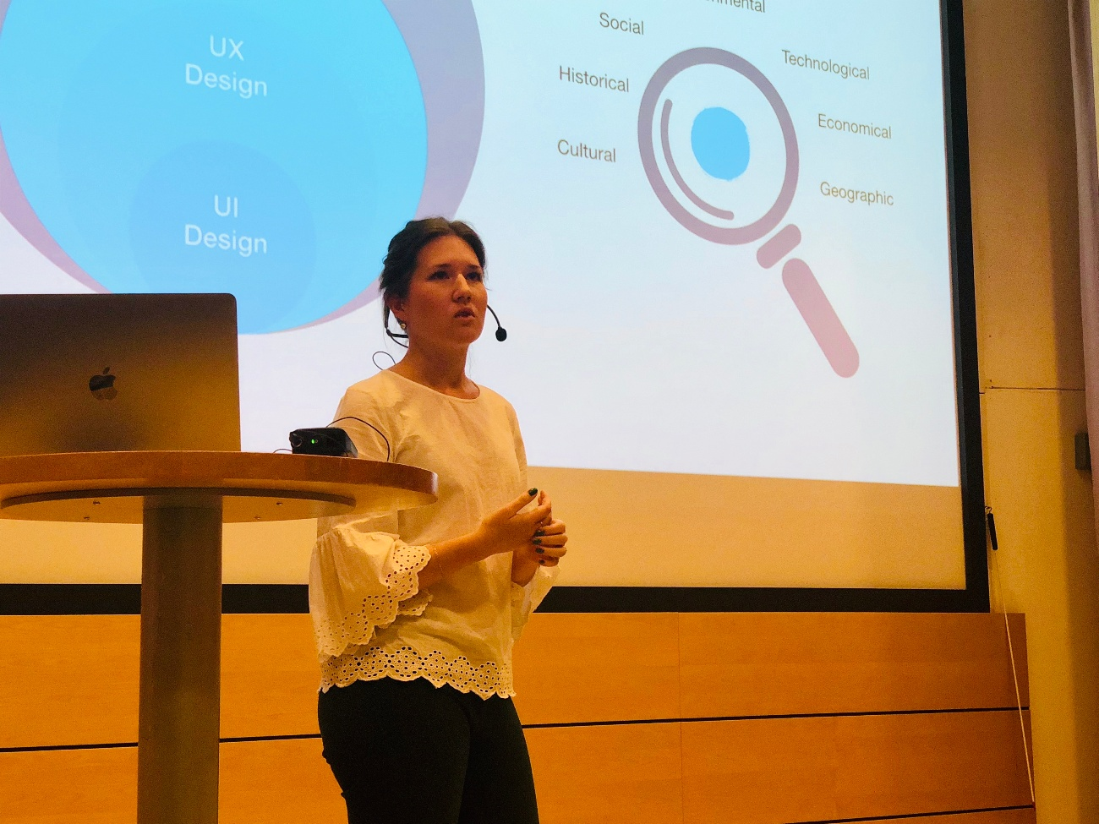 Maria UX presentation